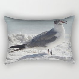 Laughing Gull Rectangular Pillow