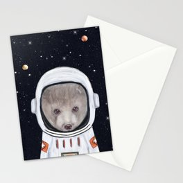 little space bear Stationery Cards