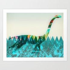 loch ness Art Print