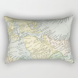 Vintage Map of The East Of Canada Rectangular Pillow