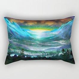 Solar Winds Rectangular Pillow