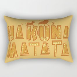 Hakuna Matata! Rectangular Pillow