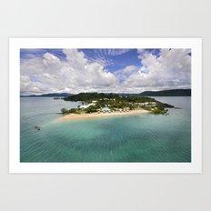 Day Dream Island QLD Art Print