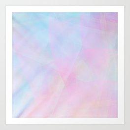 Abstract Pastel Design Art Print