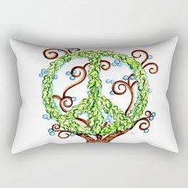 Tree of Peace Rectangular Pillow