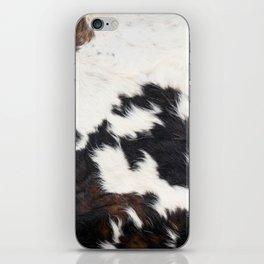 Brown Cowhide iPhone Skin