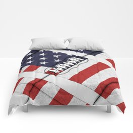 4th of July American Football Fanatic Comforters