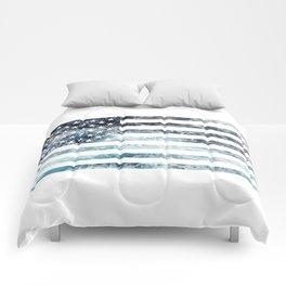 USA Ocean Flag Comforters