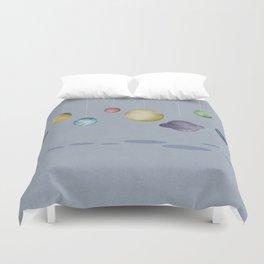 The Solar System Duvet Cover