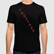 Together Mens Fitted Tee Black MEDIUM