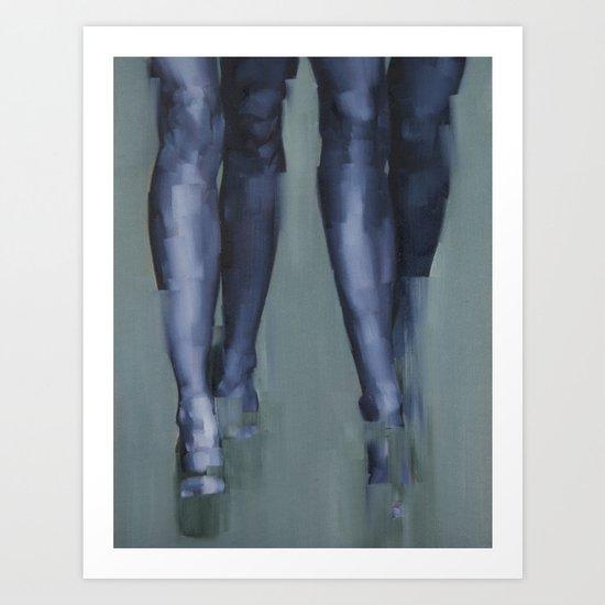 Synchrony Art Print