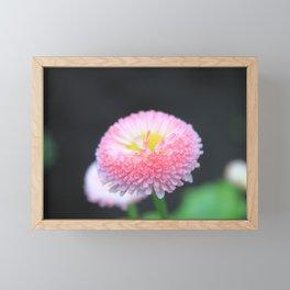 Kayla's Pink Flower Framed Mini Art Print