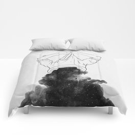 Its better to disappear. Comforters