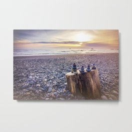 Pacific Coast Balance Metal Print