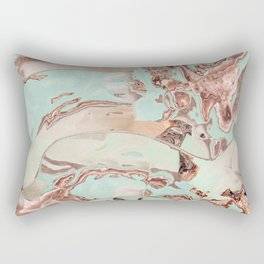 Secrets of the beach Rectangular Pillow