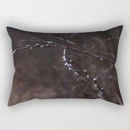 Salix caprea Rectangular Pillow