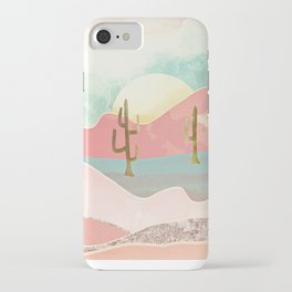 Desert Mountains iPhone Case