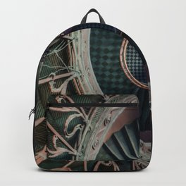 Art Deco spiral staircse Backpack