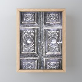 The Door to the Past Framed Mini Art Print