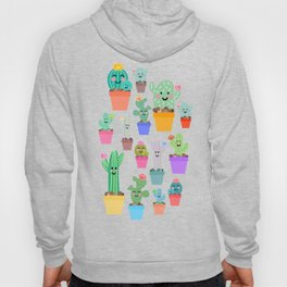 Sunny Happy Cactus Family Hoody