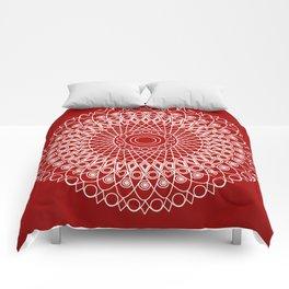 Christmas mandala Comforters