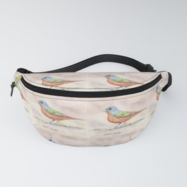 Painted Bunting Fanny Pack