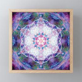 Mandalas from the Depth of Love 7 Framed Mini Art Print
