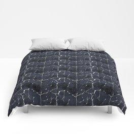 Irregular Lines Abstract Texture Comforters