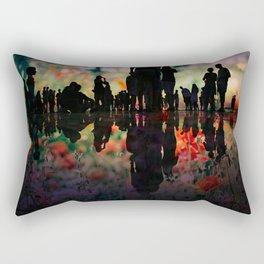 People flowering Rectangular Pillow