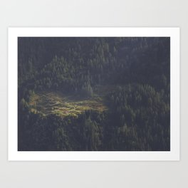 Touched by Light Art Print