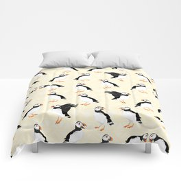 Puffin Pattern Comforters
