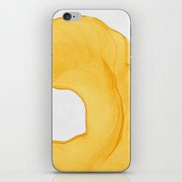 Yellow Ink iPhone Skin