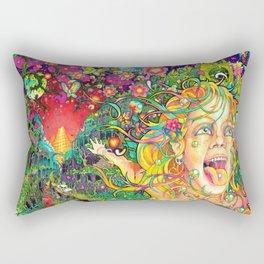 Eurydice in the Underworld (LSD) Rectangular Pillow