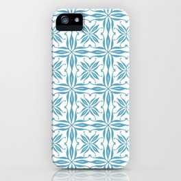 Blue Tile iPhone Case