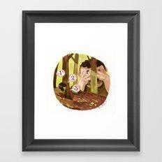 Hide n' Seek Framed Art Print
