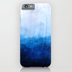 All good things are wild and free - Ocean Ombre Painting Slim Case iPhone 6s
