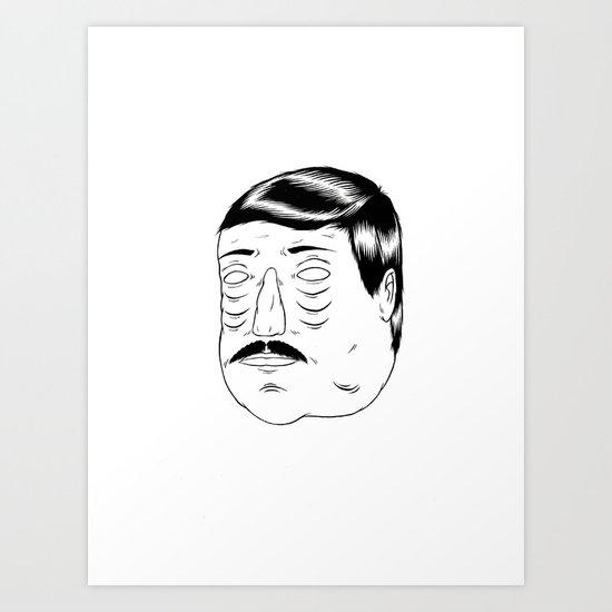 Needing some sleep! Art Print