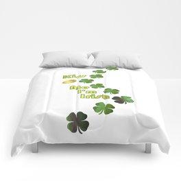 Irish Kisses - Happy St Patrick's Day Comforters