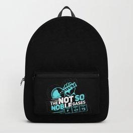 Science Joke Fart Noble Gas Chemistry Teacher Gift Backpack
