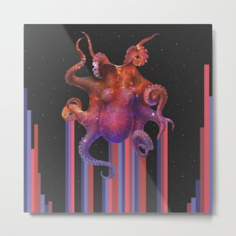 Colour Out of Space Metal Print