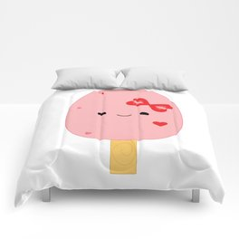 Strawberries N Cream Popsicle Comforters