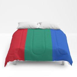 Flag of planet Mars Comforters