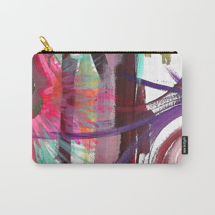 Spring Blush Carry-All Pouch