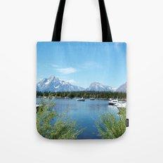 Grand Teton National Park. Landscape photography. Tote Bag