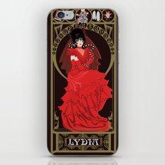 Lydia Nouveau - Beetlejuice iPhone & iPod Skin
