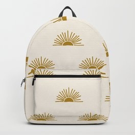 Sol in Natural Backpack