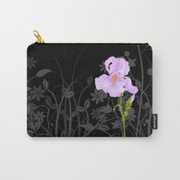 Iris Mauve Carry-All Pouch