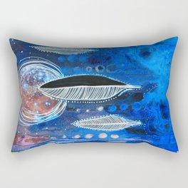 Feather Moon Rectangular Pillow