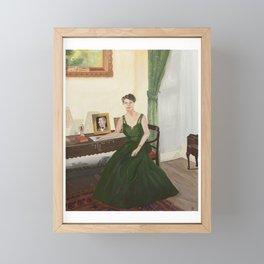 Eleanor Roosevelt Framed Mini Art Print