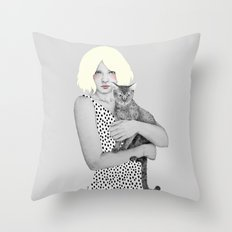 Lyra Throw Pillow